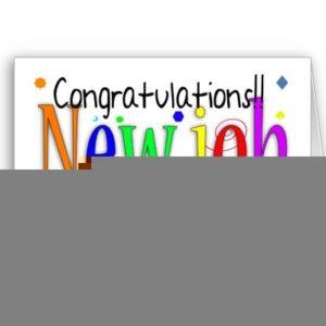 Congratulations new job greeting card new job p137370636552395776b2ico